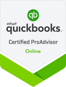 Certified QuickBooks Proadvisor Online Badge