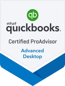 Certified QuickBooks Proadvisor Advanced Online Badge